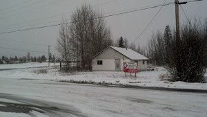 Future site of the Petro Canada station in McBride.