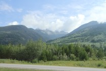 Mt Terry Fox Trail Logging- A view of the mountain from the highway (1)