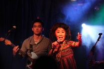 Namgar at the 2014 Robson Valley Music Festival