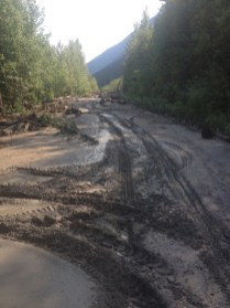 West canoe kinbasket mudslide (2)