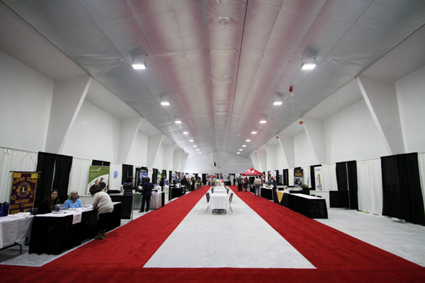 Trade show: low turnout but still productive