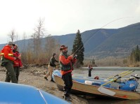 Fraser river raft trip 2014 Valemount Tete Jaune (7)