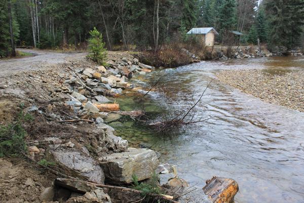 Salmon habitat restoration continues on Swift Creek