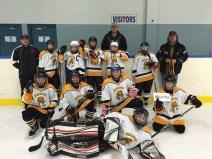 McBride Valemount Peewee hockey team