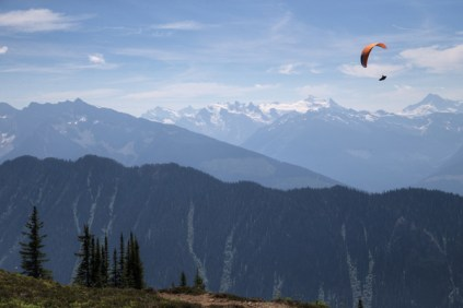 Gavin McClurg & Will Gadd. Photo Jody MacDonald paragliding (6)