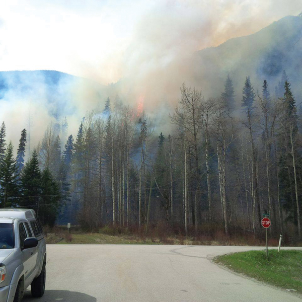 Fire ban still in place