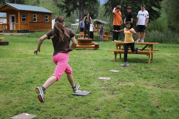 Local youth go APE for parkour