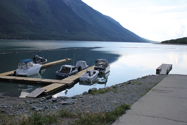 valemount marina docks water level