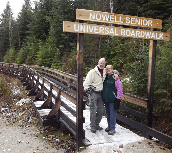 Nowell Senior honoured for Ancient Forest deeds