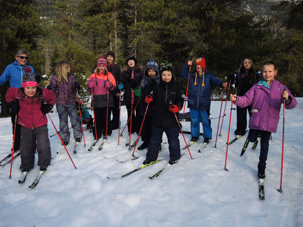 cross-country ski yora jackman flats
