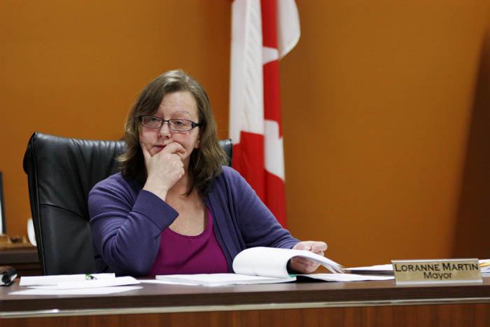 Mayor Loranne Martin