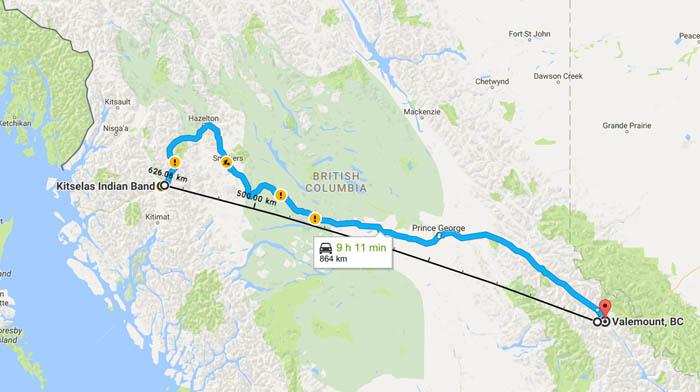 Kitselas First Nation pursues geothermal