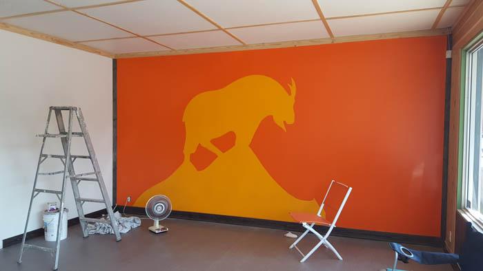 The Goat's new office in downtown Valemount