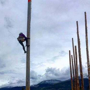 Jean Ann pole climb pic (2)