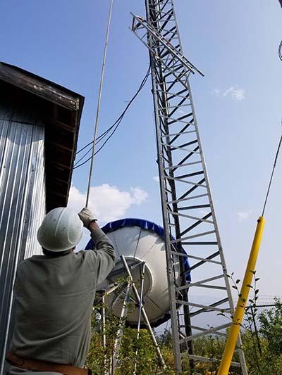VCTV tower repairs (1)