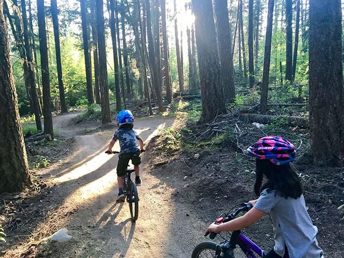 Valemount Bike Park: what's there for little shredders?