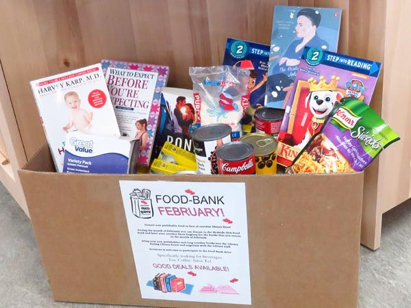 McBride library food bank