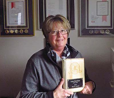 Berndsen recognized for real estate success
