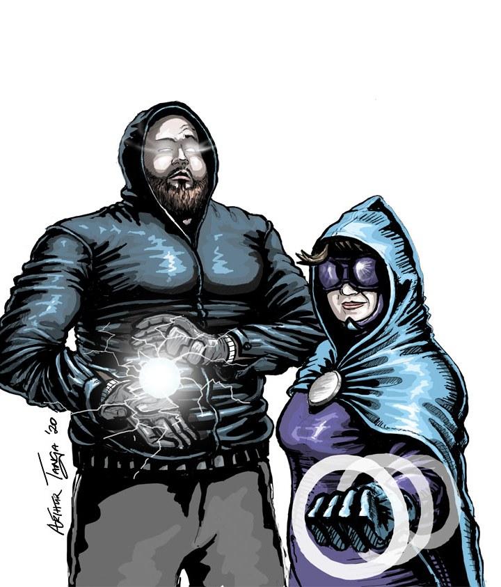 McBride's new recruits: Superheroes or Super Villains?