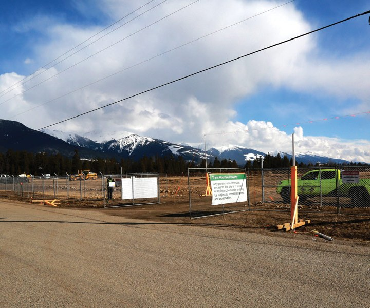 Trans Mountain: Work continuing at Valemount camp during COVID restrictions