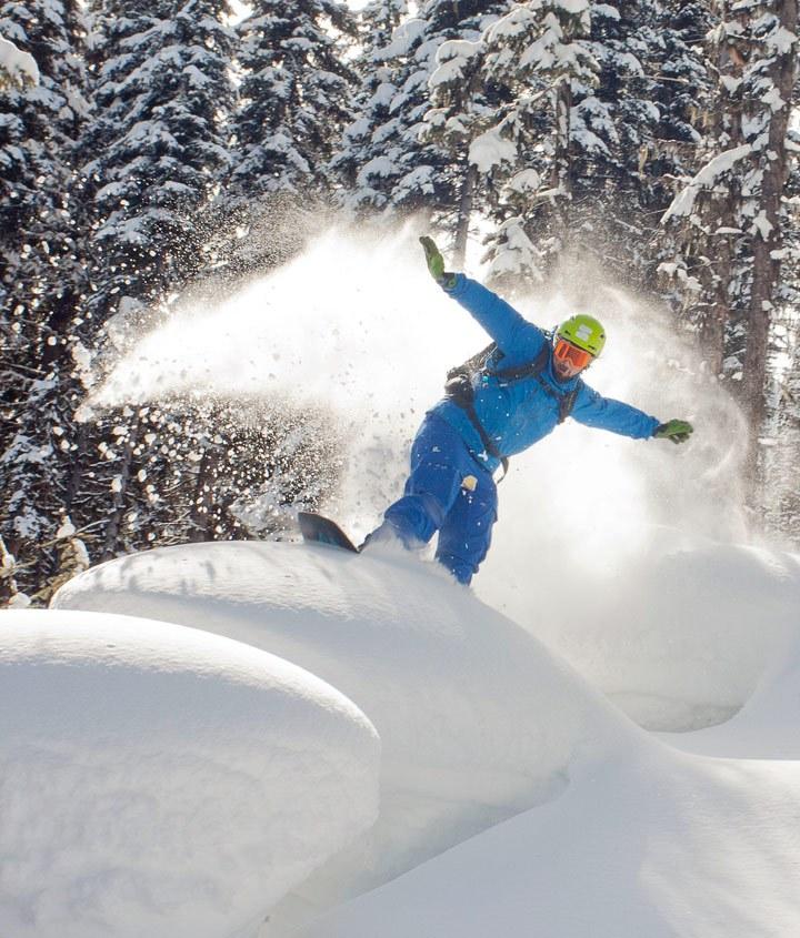 Valemount powder ski