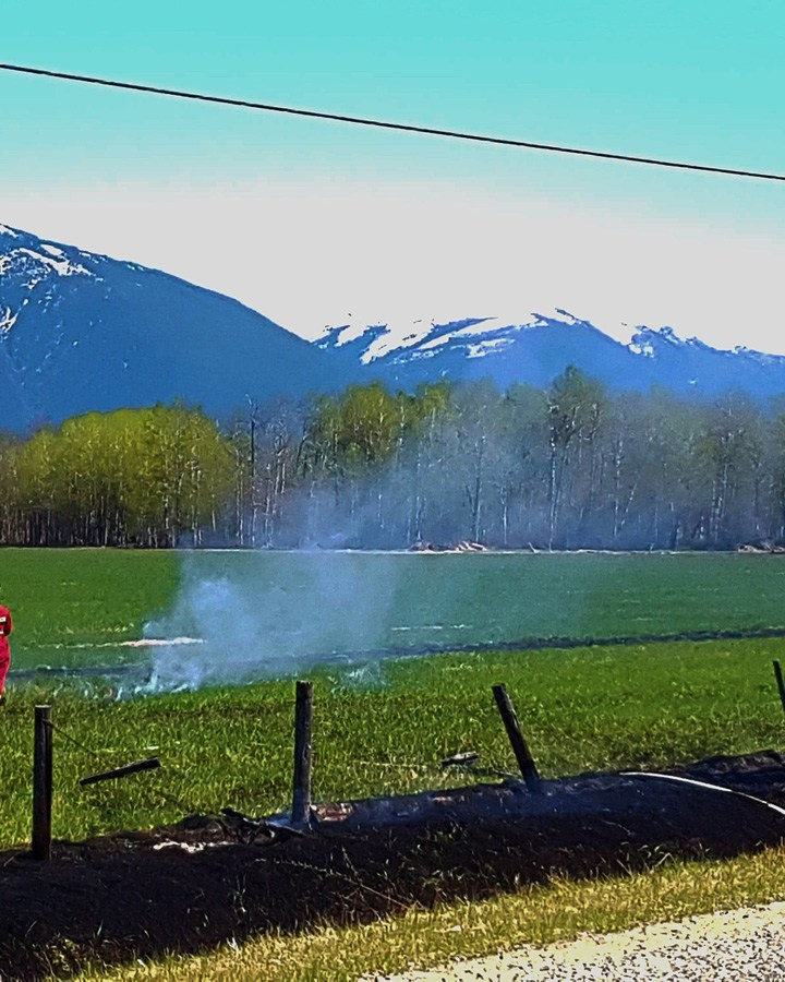 Controlled burn gets out of hand