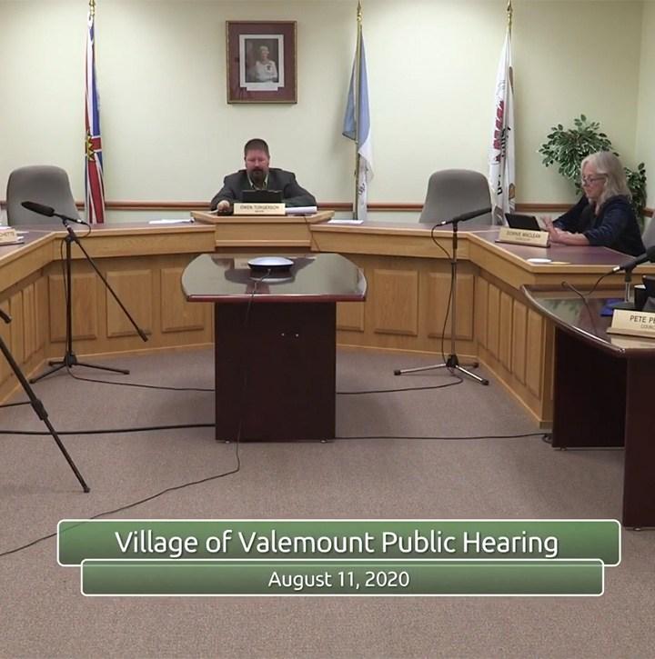 Valemount council: annual report, letter for wetlands