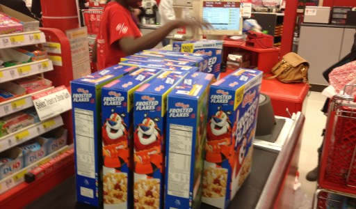 What a Lovely Day to Spend $300.00 on Cereal