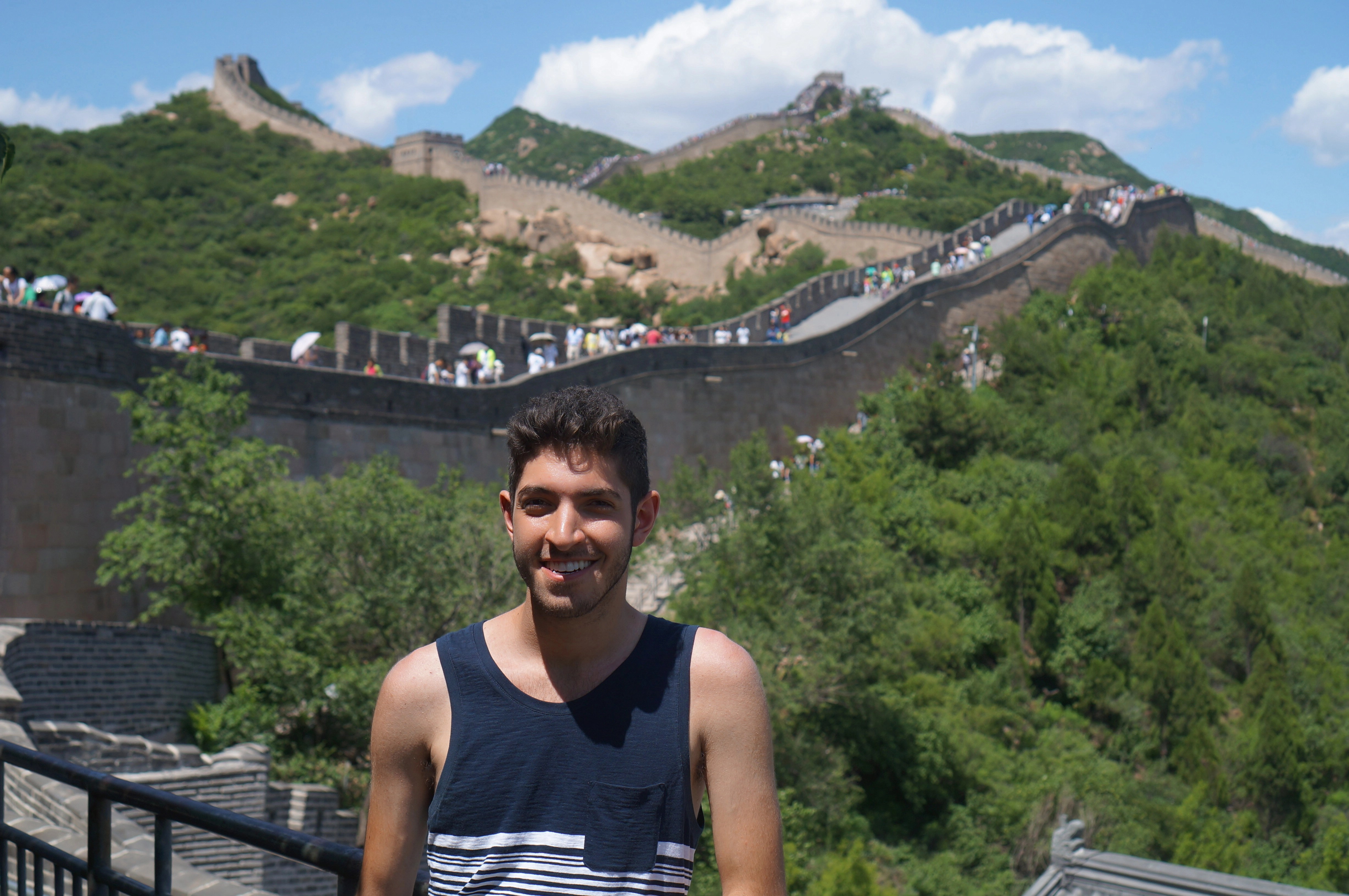 Standing at the Great Wall
