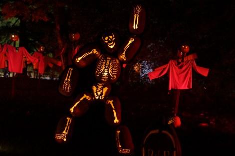 Waving Skeleton
