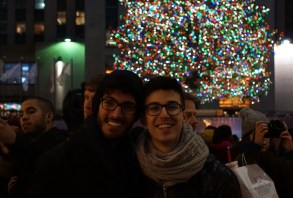 Our Ice Skate Date at the Rockefeller Center