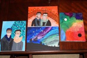 My Impulsive Painting-Spree Over Winter Break