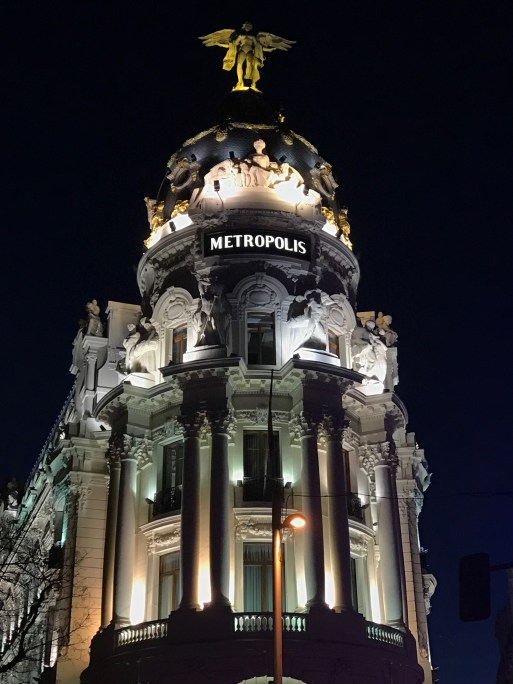 Exploring the Gran Vía of Madrid