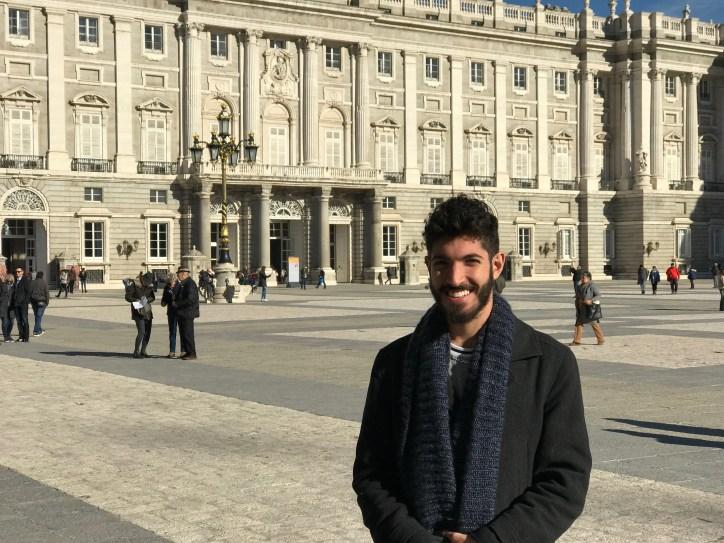 View from the Plaza de la Armeria
