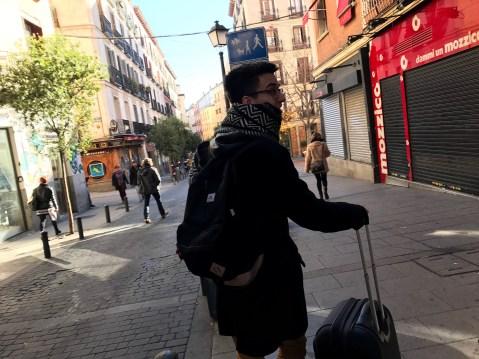 Leaving Madrid