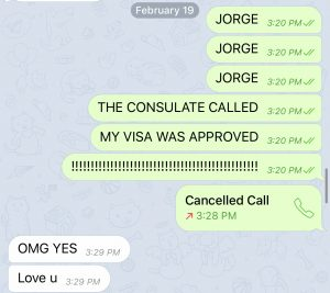 Awaiting the Approval of a Spanish Student Visa and