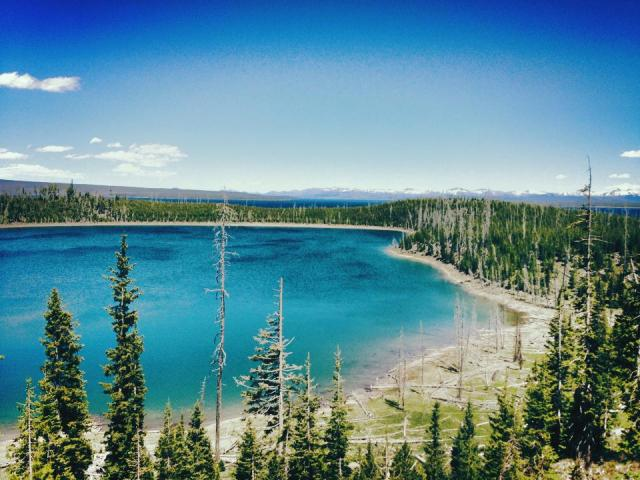 Yellowstone National Park Lake