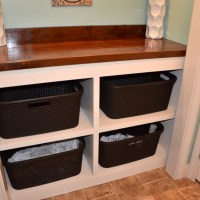 Project: Laundry Room Closet Clothes Bin and Countertop