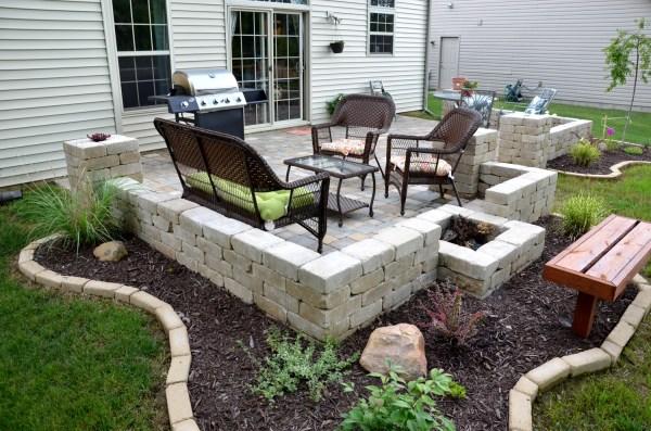 DIY Backyard Paver Patio Design Ideas