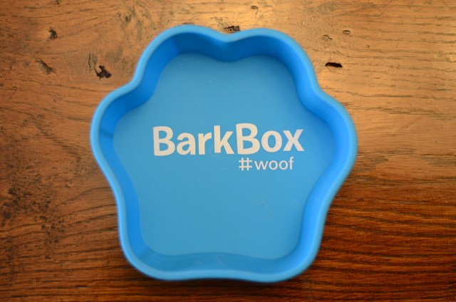 Bark Box cake pan for birthday cake
