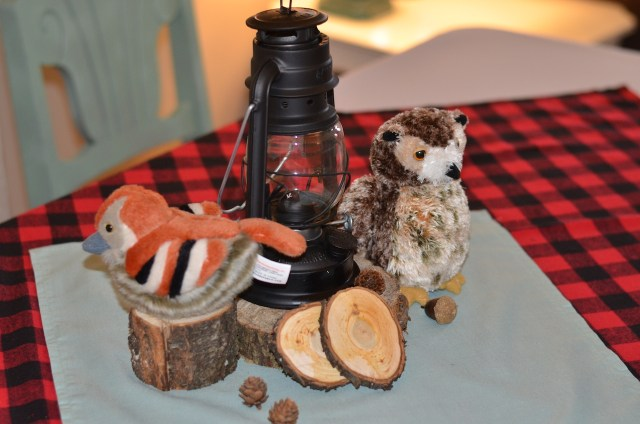 Lumberjack and Woodland Animals Themed First Birthday Party