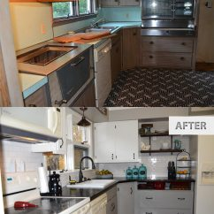Budget Kitchen Remodel Modern Corner Table This Old Famhouse – One Year Later | The Rodimels Family Blog