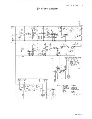 Yamaha SY1 Service Manual