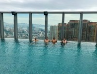 W Hong Kong and one of the worlds highest rooftop pools ...