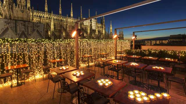 La Rinacente  Rooftop bar in Milan  The Rooftop Guide