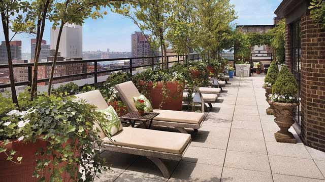 garden oasis patio chairs how to make cheap chair covers for folding the sky terrace at hudson hotel - rooftop bar in new york, nyc | therooftopguide.com