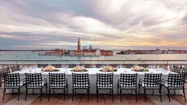 Restaurant Terrazza Danieli  Rooftop bar in Venice  The