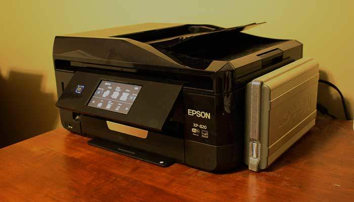 Epson Expression XP-820 - The Rookie Dad