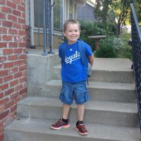 A Letter To My Son On His First Day Of School