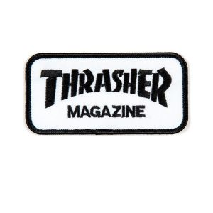 Parche Thrasher Magazine White